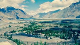 Nubra Is A Tri Armed Valley Located To The North East Of Ladakh