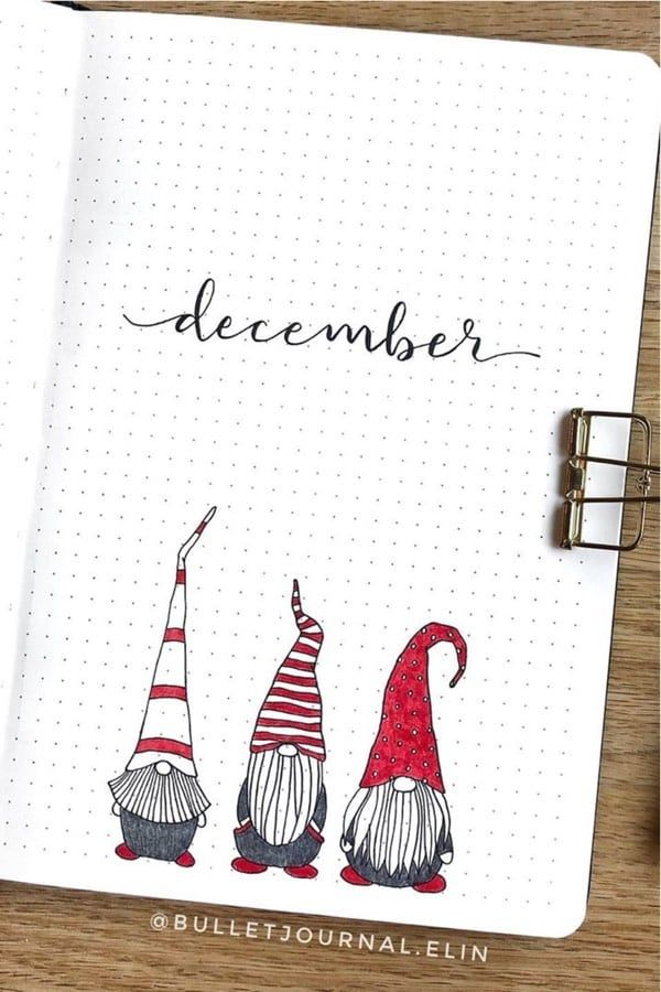 30 Best December Monthly Cover Ideas For Holiday Vibes - Crazy Laura #wintercards