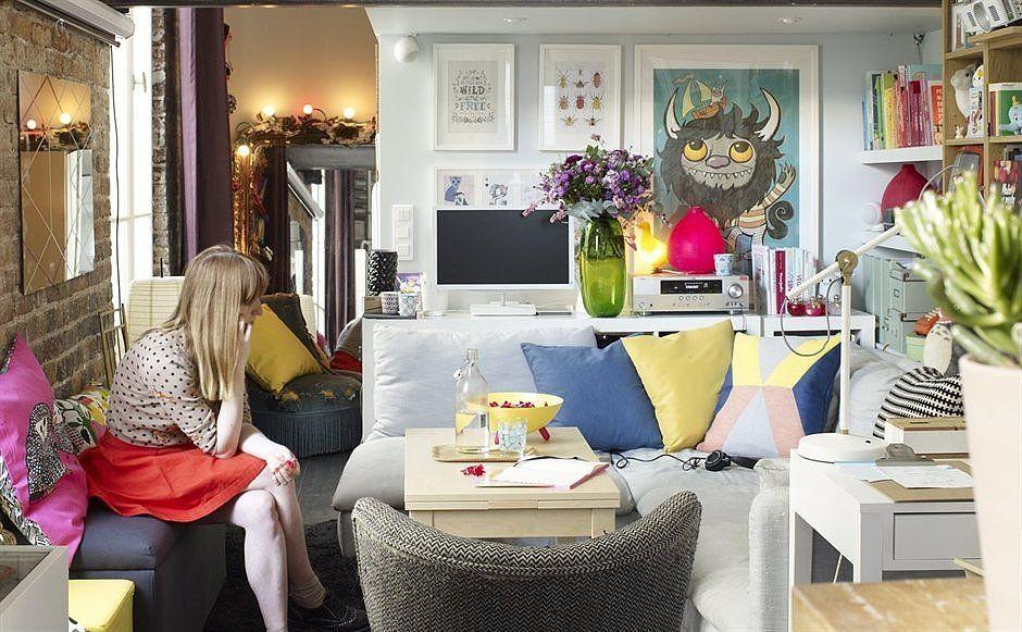 Tiny Ikea-Inspired Apartment in Paris | POPSUGAR Home