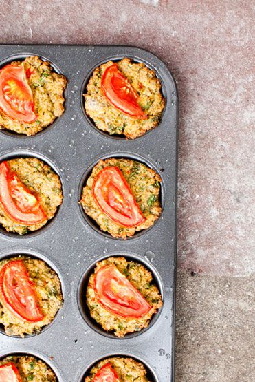Loving Earth - Recipes - Chia Quinoa Muffins with Coconut Garlic Butter - sounds yummy!!