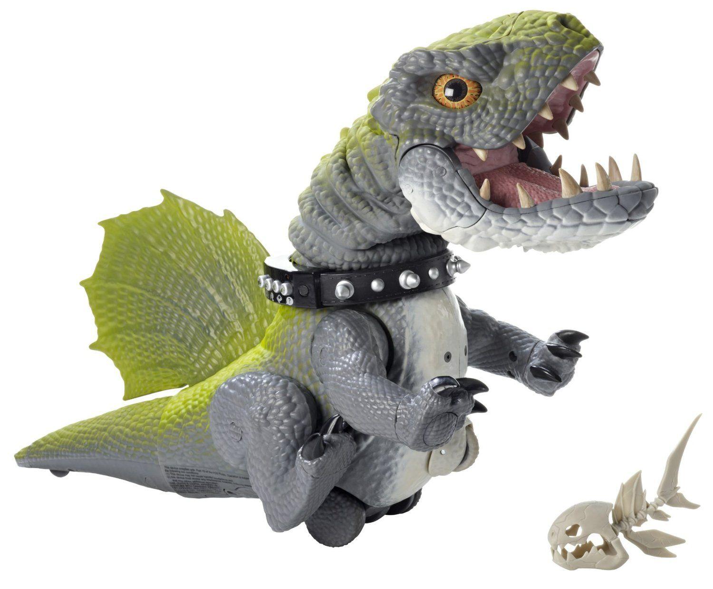 Mattel dinosaur cruncher interactive toy prehistoric pets 2010.