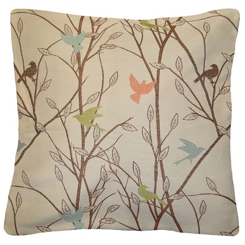Spencer Home Decor Tweets Bird Throw Pillow Multicolor Products Cool Spencer Home Decor Tweets Bird Throw Pillow