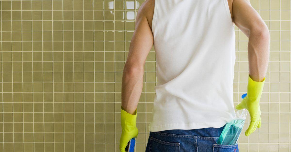 C mo quitar moho negro de las paredes de la ducha - Como quitar el moho de los azulejos ...