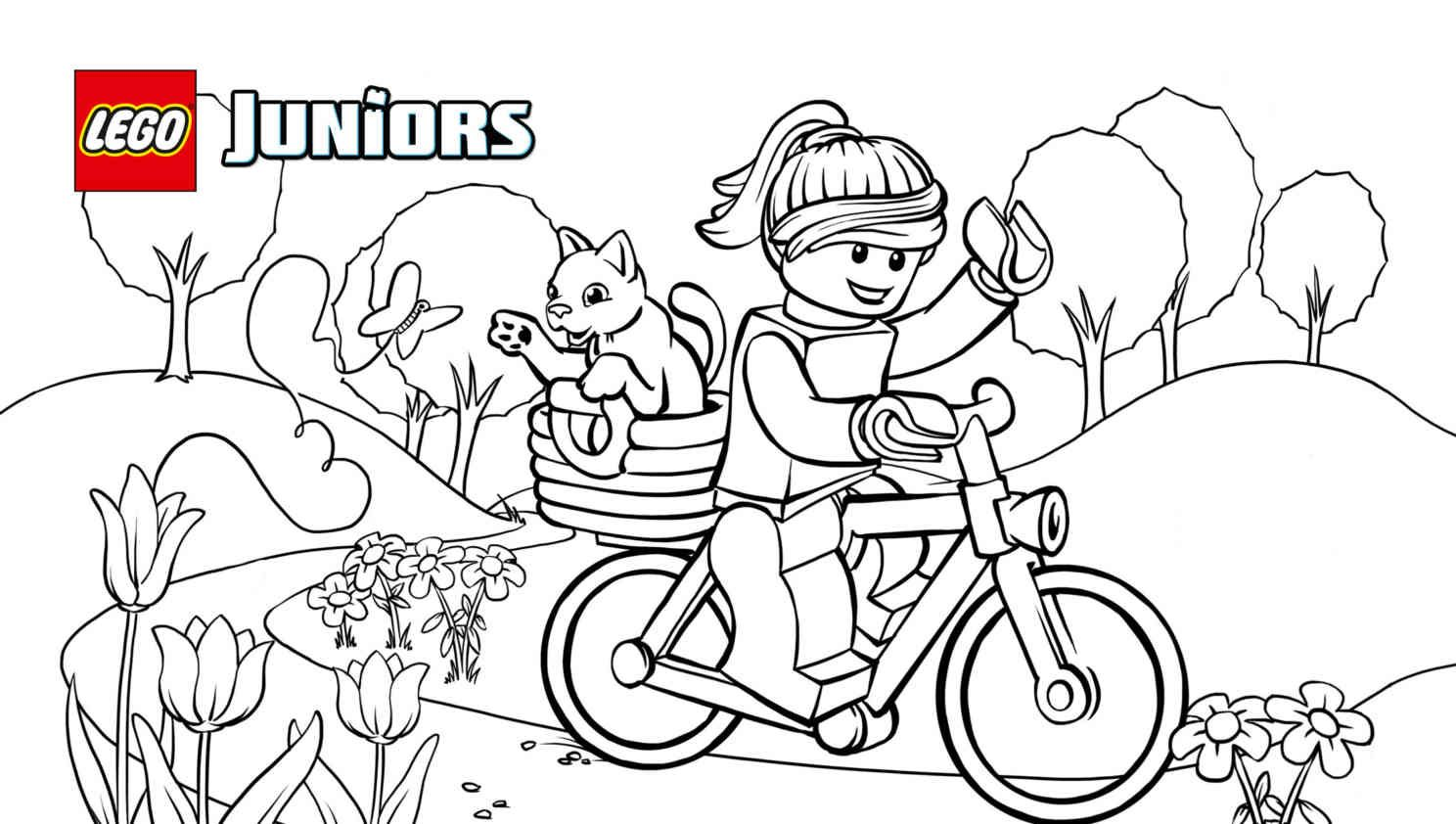 lego coloring pages for girls - photo #34