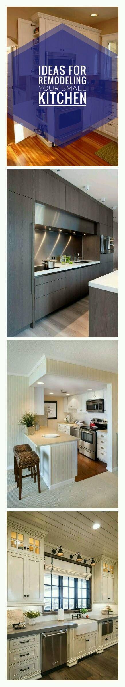 Küchenideen klein  amazing small kitchen remodel designs solution for small kitchen
