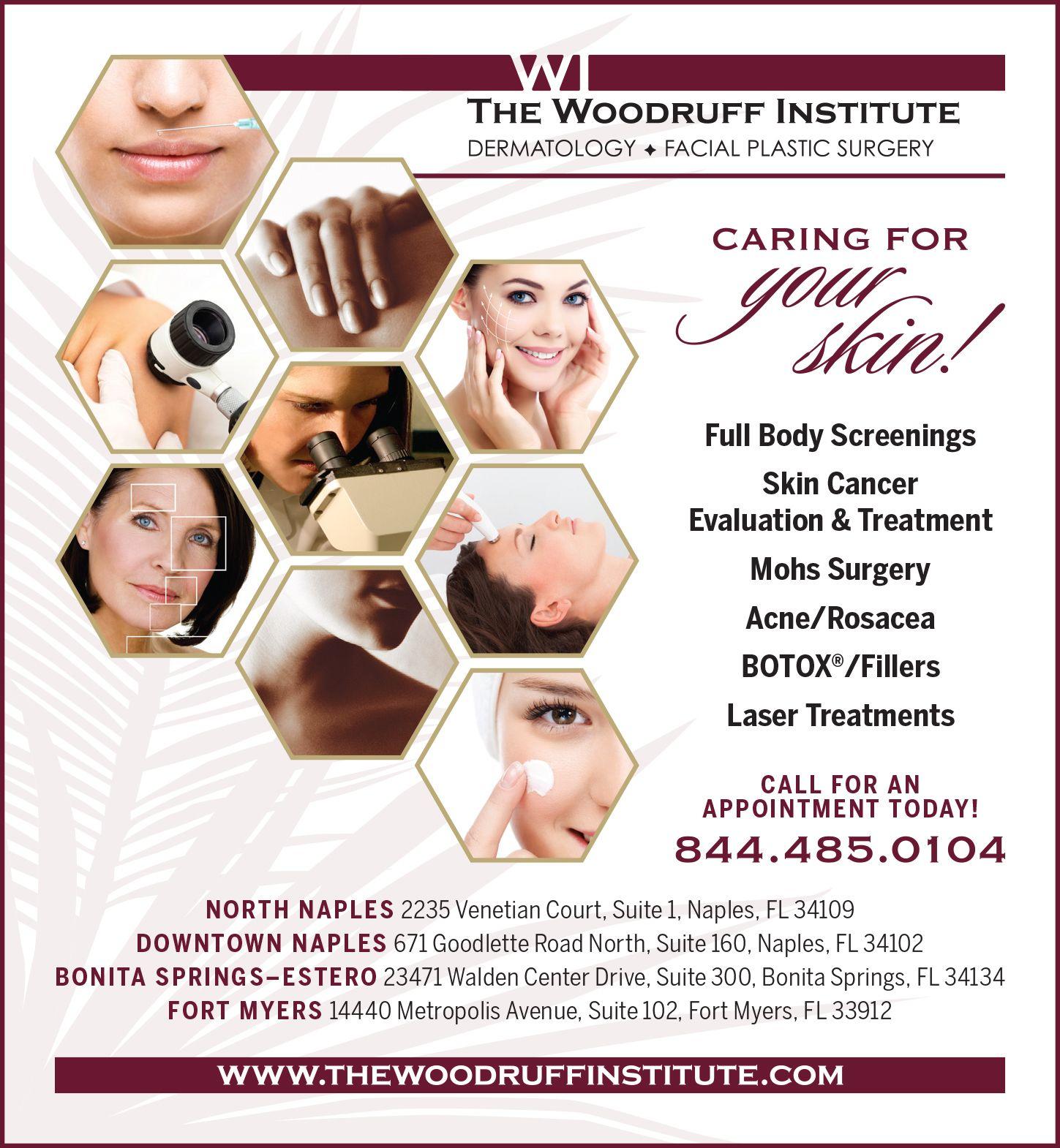magazine advertisement amygraudesign dermatology advertisement