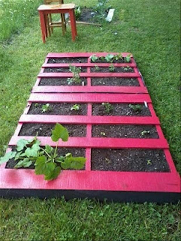 great way to make a veggie garden