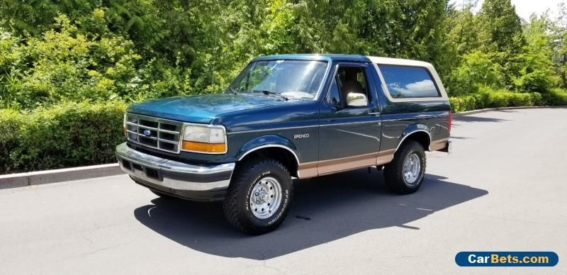 1995 Ford Bronco Ford Bronco Forsale Canada 1995 Ford Bronco Ford Bronco Cars For Sale