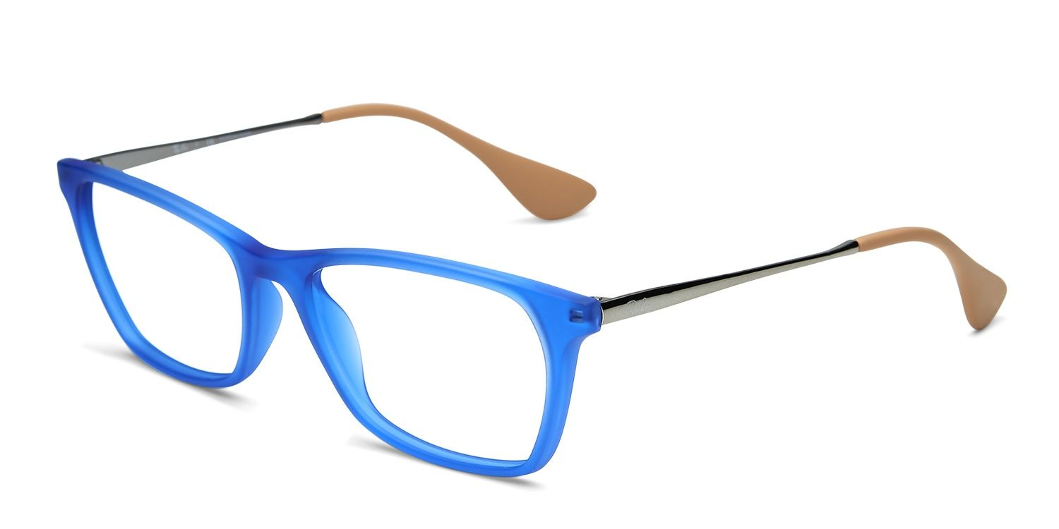 Ray-Ban 7053 Prescription Eyeglasses | Things to Wear | Pinterest