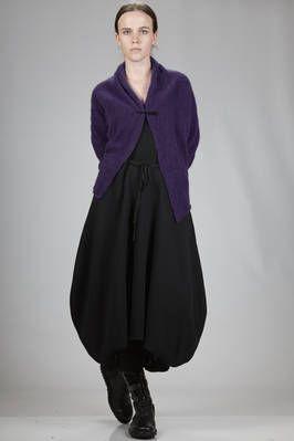 Yukai   short cardigan in mohair, wool, polyester and elastane   #yukai