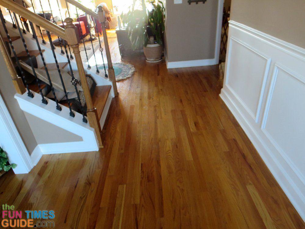 Using Bona Refresher As A Floor Polish Instead Of Using Floor Wax How To Make Hardwood Floors Shine Without Damaging T Polish Floor Hardwood Floors Bona Floor