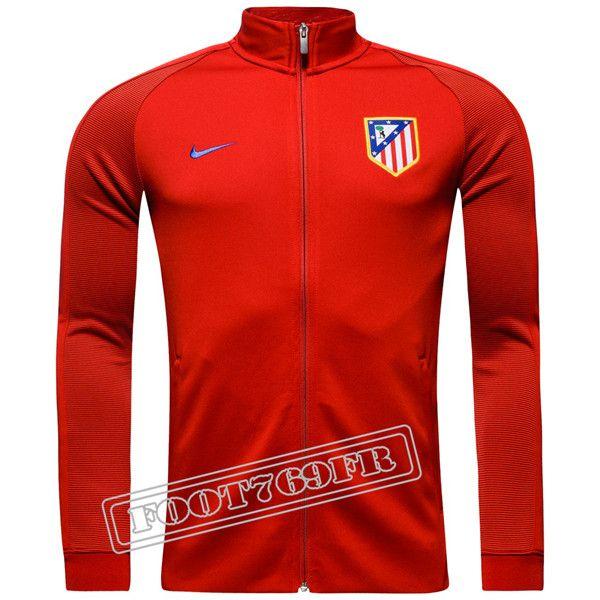 Nouveau Survetement Madrid Atletico Rouge 2016 Veste 2017 rw14Fq6rx