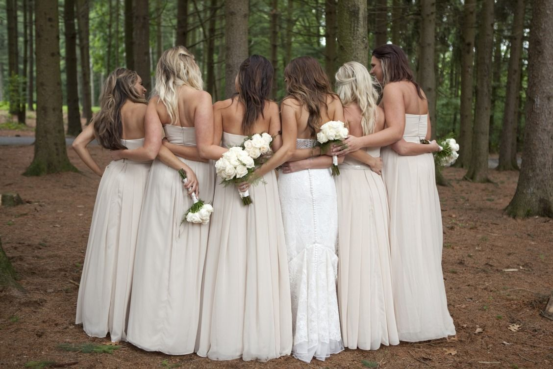 Dbmaids in long strapless biscotti davids bridal bridesmaid dbmaids in long strapless biscotti davids bridal bridesmaid dresses photo by the pros ombrellifo Images