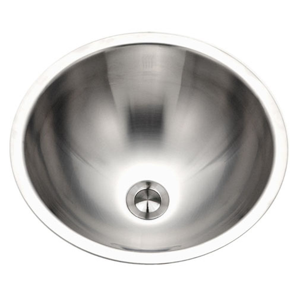 Houzer Vopus Series Conical Undermount Stainless Steel Lavatory