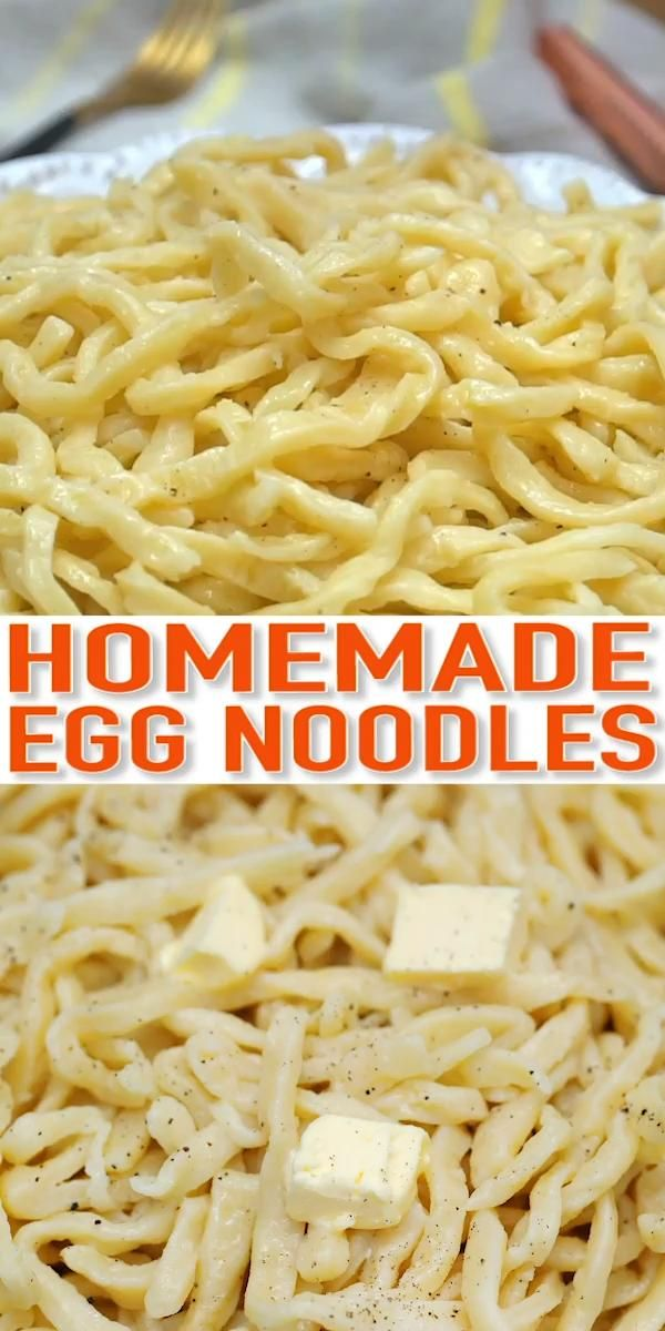 Easiest Homemade Egg Noodles You Ll Ever Make Video Recipe Video Easy Homemade Noodles Homemade Egg Noodles Homemade Pasta Recipe