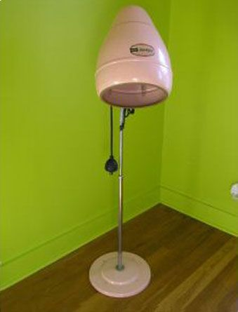 The Allee Willis Museum Of Kitsch Salon Perfect Hair At Home Vintage Hair Dryer Home Hair Salons Vintage Salon