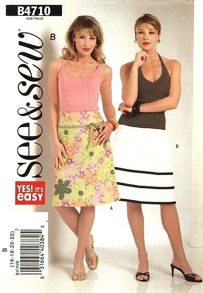 da230c03d693 See   Sew Pattern B4710 - Skirt