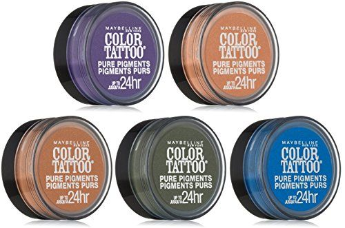 Maybelline New York Eye Studio Color Tattoo Pure Pigments Set 5piece Collection You Can Find Out More Details At Eye Makeup Pigment Eyeshadow Color Tattoo