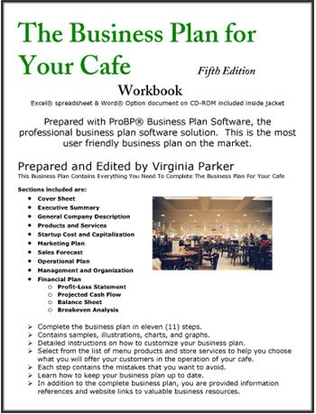 The Business Plan For Your Café Business Plans