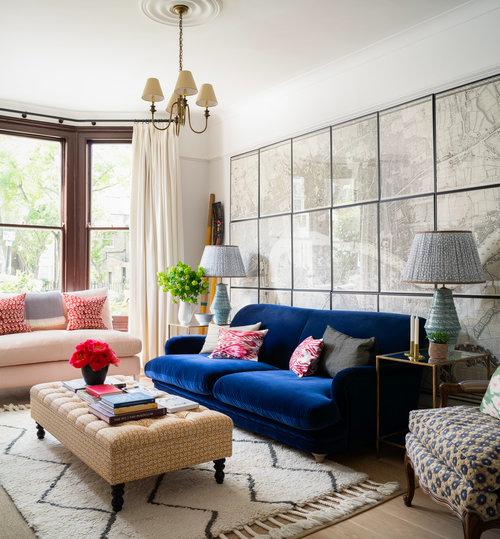 Jessica Buckley Interiors In 2020 Blue Velvet Sofa Living Room Interior Design Living Room Living Room Designs