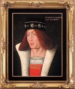 James Ii King Of Scotland 1430 1460 My 15th Great Grandfather