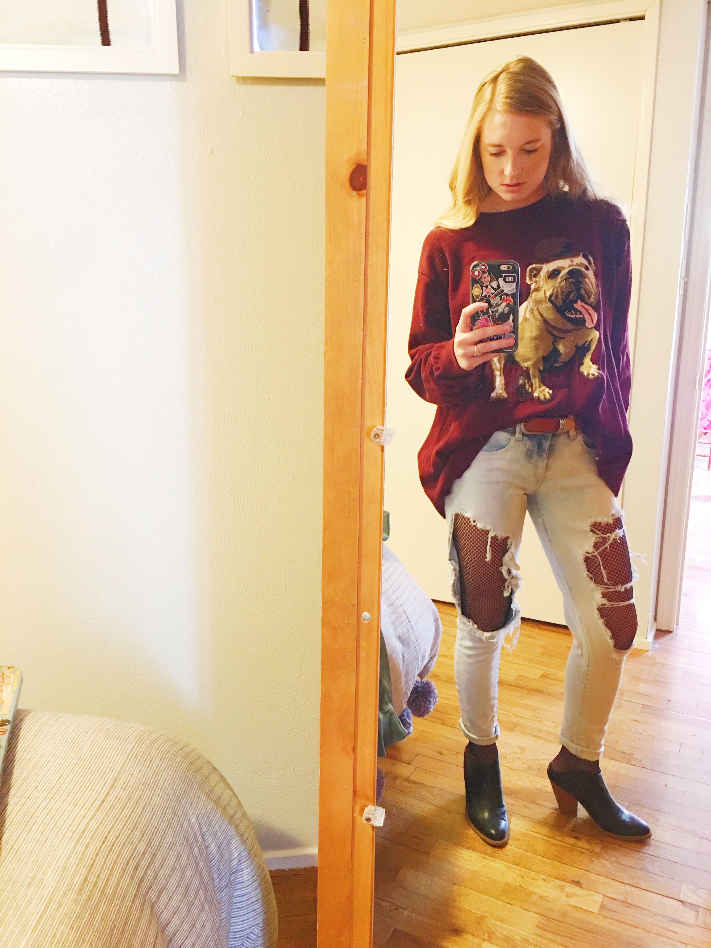 SWEATER: Men's Target JEANS & SHOES: Target FISHNETS: Hot Topic ...