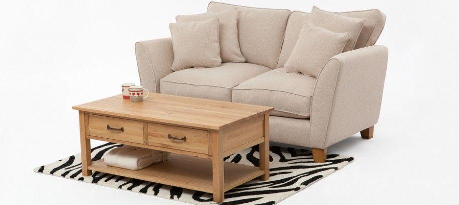 Dante Two Seat Sofa Cream - Sofas - Sofas & Chairs - Furniture