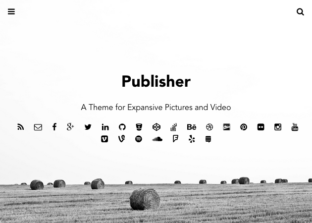 publisher themes