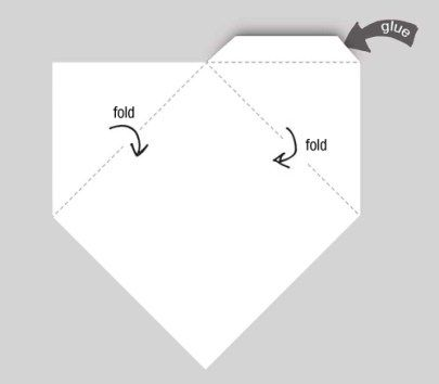 Download the template. Our template can make a 7cm by 7cm corner ...