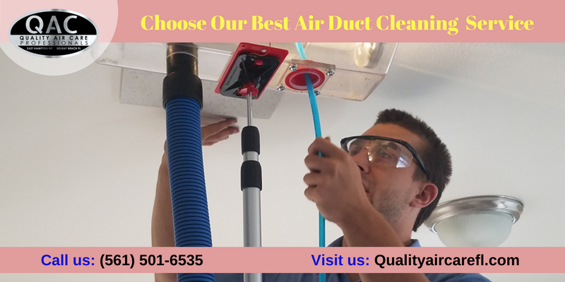 Our South Florida Air Duct Cleaning Services Choose Our