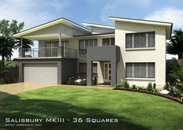 Split Roof Design: Tullipan Homes Building Contractors, Split Level Home