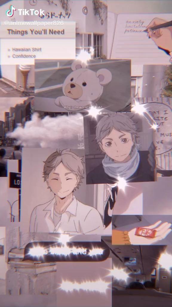sugawara live wallpaper edit aesthetic anime haikyuu [Video] | Anime wallpaper iphone, Haikyuu anime, Anime