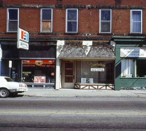 Harlan Apartment Building And Storerooms, March 1979