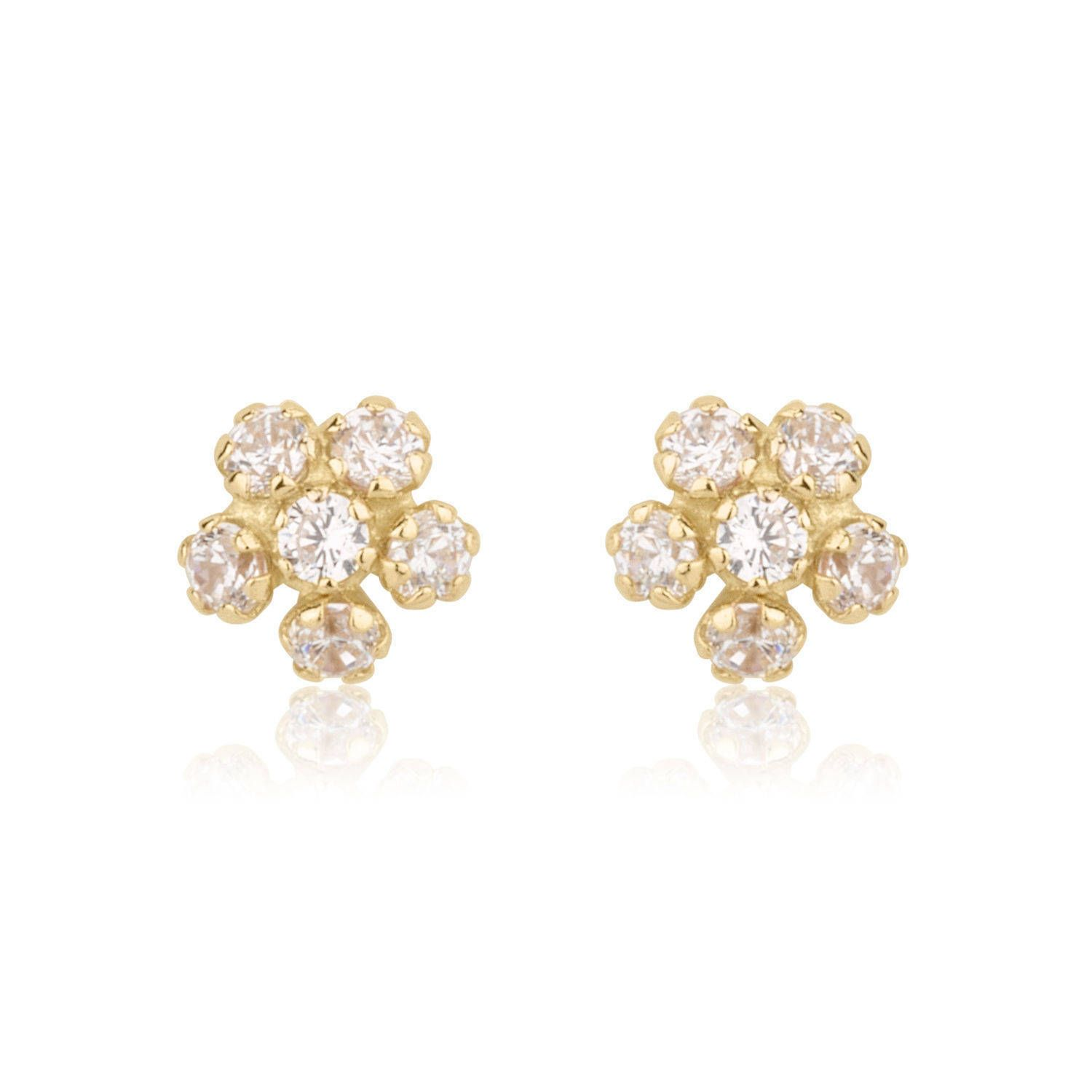 stud earring expect regal gold miracles picture inc of baby jewels