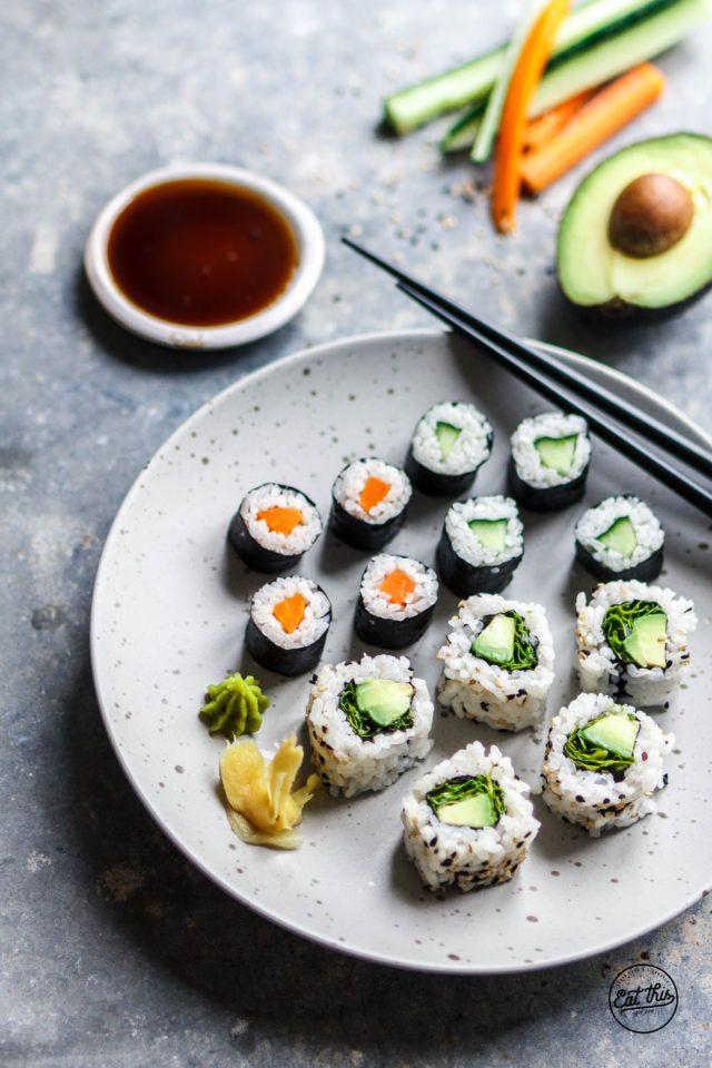 Veganes Sushi selber machen