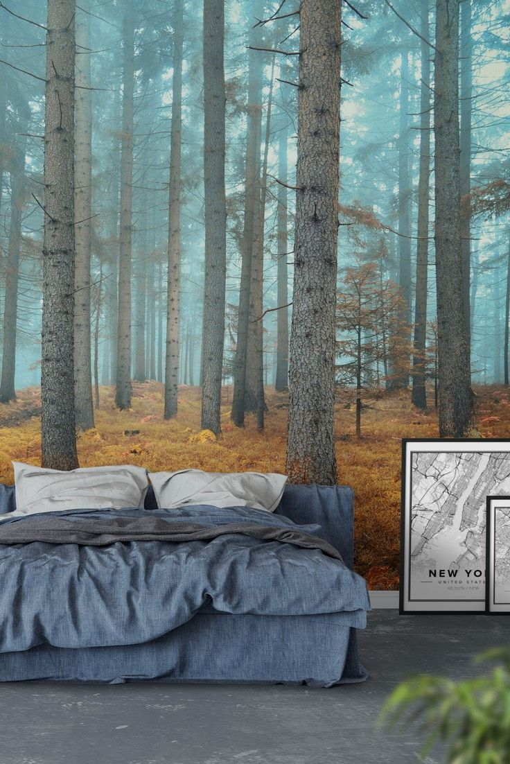 dreamy forest wall mural wallpaper forest wall murals dreamy forest wall mural wallpaper