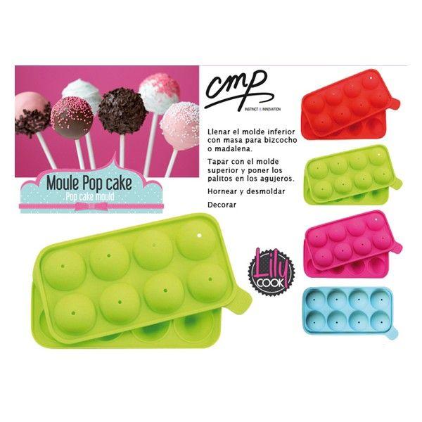 Molde 8 pop cake c palos avec d lectation pinterest reposteria creativa festejo y creativo - Moldes reposteria originales ...