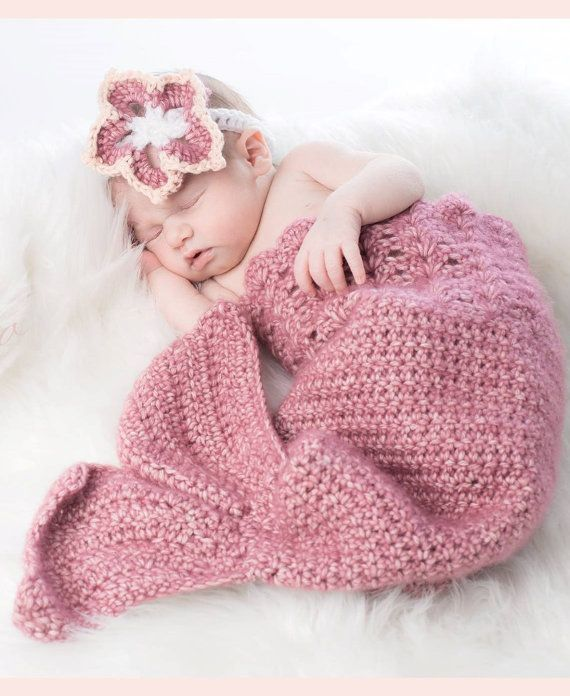 Easy Crochet Mermaid Tail Pattern Newborn To 5t By