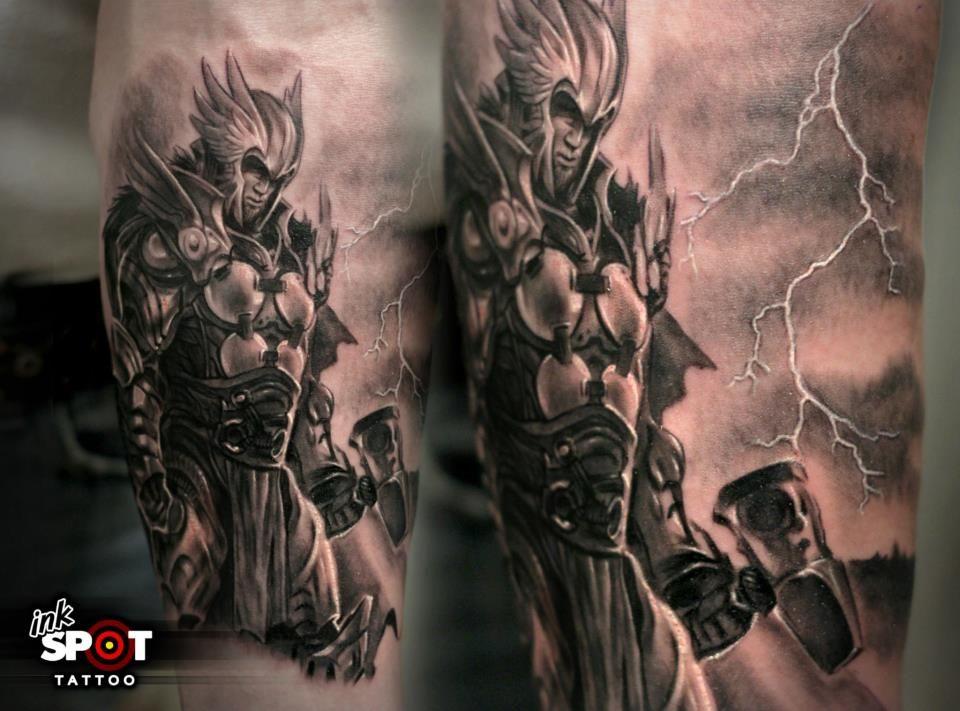 Thor Tattoo Thor Tattoo Mythology Tattoos Greek Mythology Tattoos