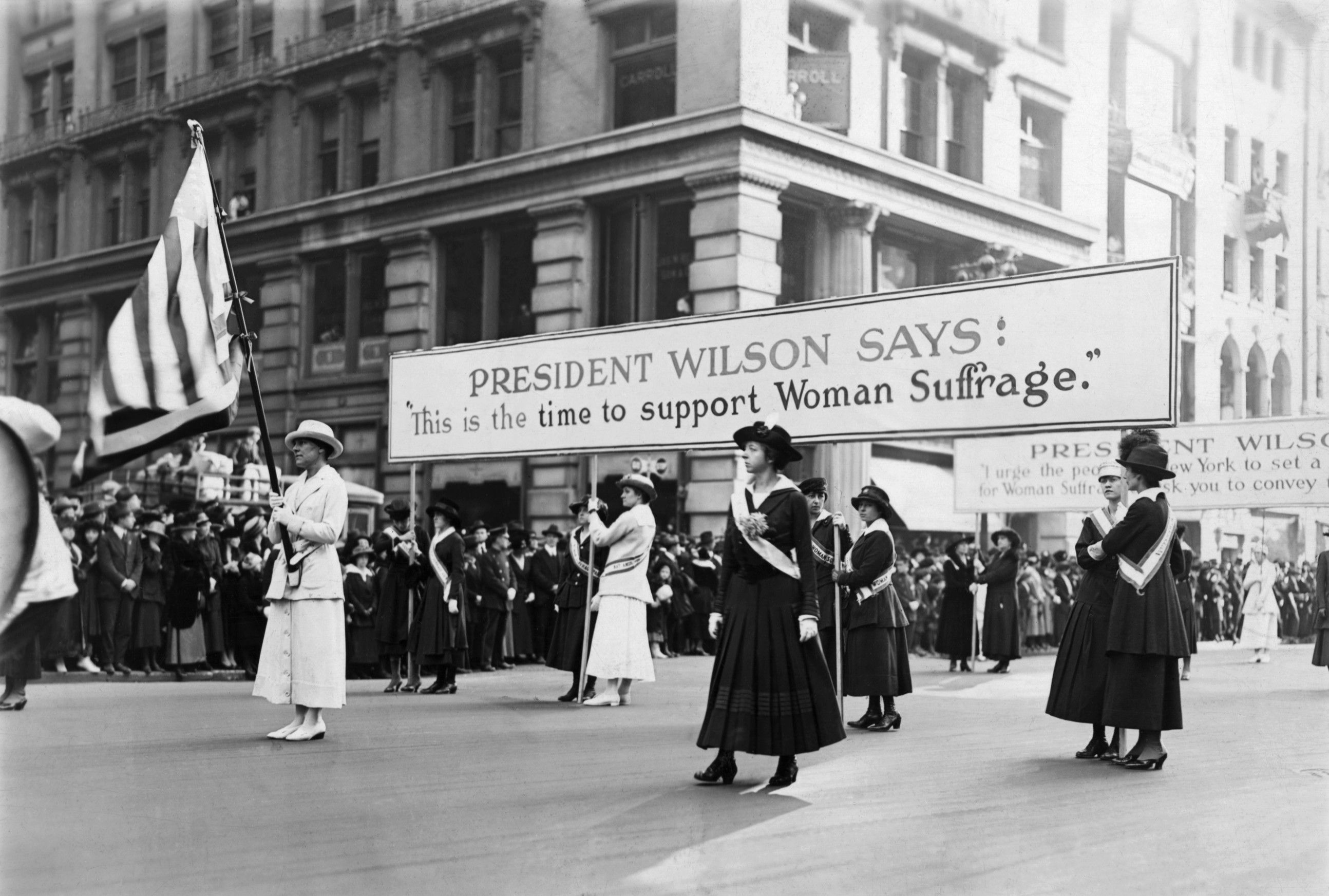 1917 Women's Suffrage March
