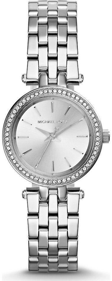 مايكل كورس بيتيت دارسي للنساء انالوج بسوار ستانلس ستيل Mk3294 Cool Watches Bling Watches