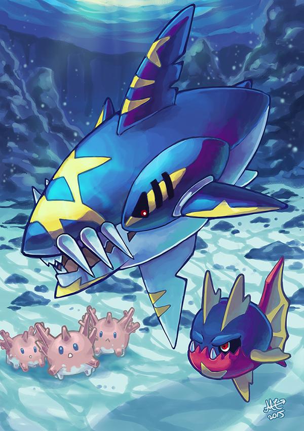Mega Sharpedo Pokemon Characters Pokemon Pictures Cool Pokemon Cards