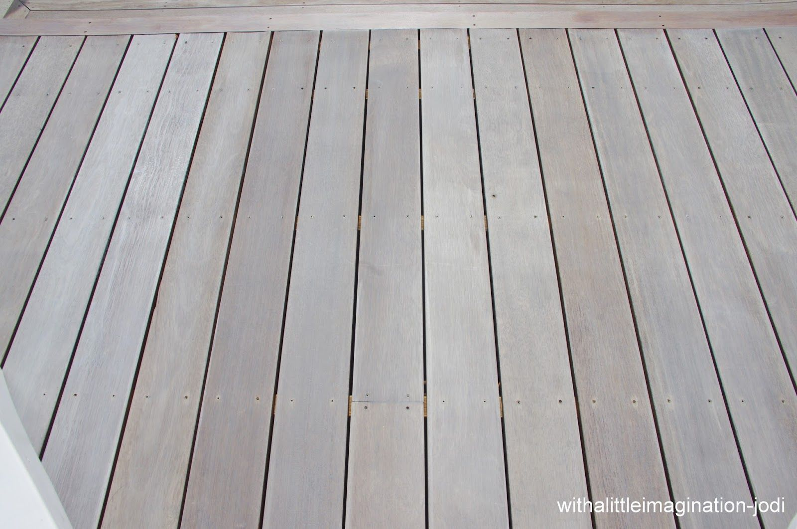 With A Little Imagination Staining Deck Deck Colors