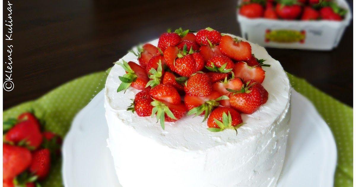 Kleines Kulinarium: Erdbeer Mascarpone Torte