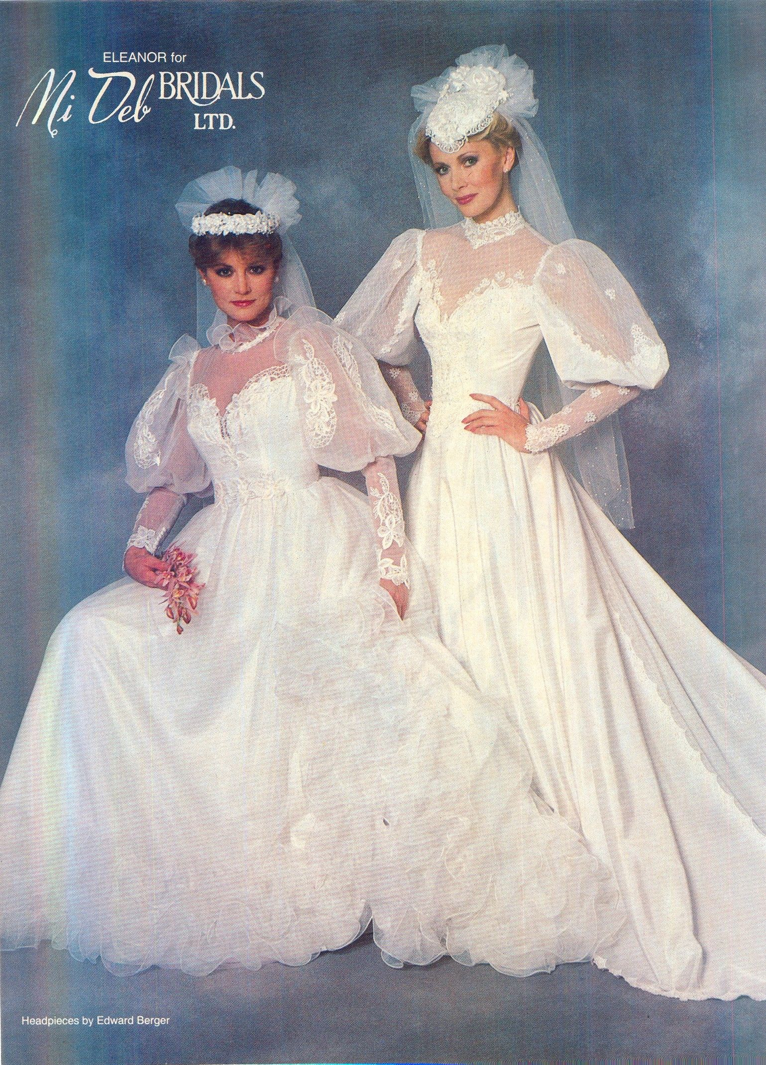 1984 Brides Magazine Bridal Gowns Vintage Wedding Gowns Vintage 90s Wedding Dress