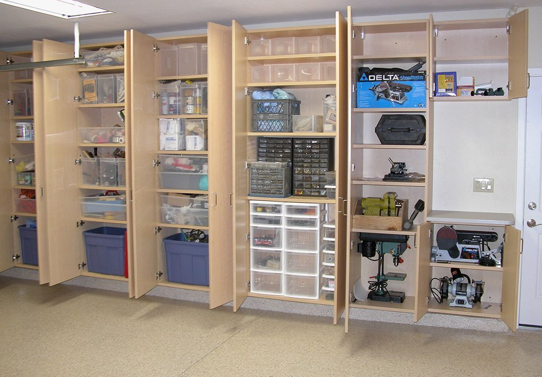 Top 5 Simple Wood Garage Cabinets Ideas You Ll Love Rangement Garage Idee Garage Amenagement Garage
