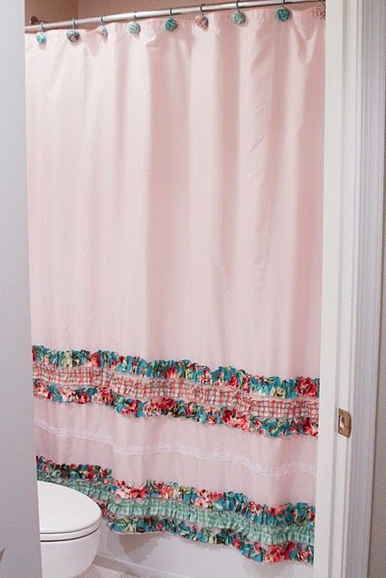Blue Robin Cottage The Final Reveal Cute Shower Curtains Diy