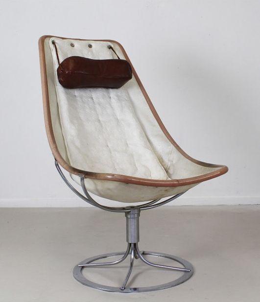 Bruno Mathsson Dux Jetson Lounge Chair 1966 Pink