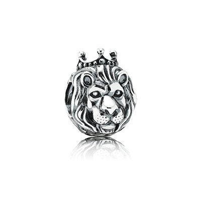 7b6494b30 PANDORA's majestic lion head sterling silver charm will be the crowning  piece on your bracelet. Renowned as a symbol of strength and loyalty, it's  perfect ...