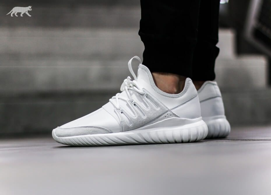 adidas Tubular Radial Crystal White | The Sole Supplier. Tubular RadialShoe  ...